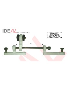 POLEA MOVIL ESPEC DESCUADRE INOX 12CM ROD