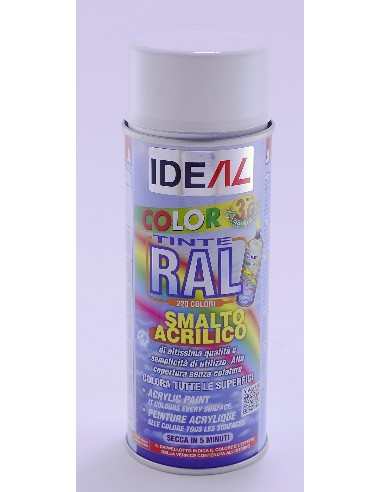 ACRYL RAL 8014 MARRON 400ML*IDEAL TOLDERO