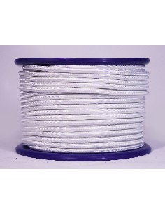 CUERDA ELASTICA 8MM 100MTS BLANCA*IDEAL