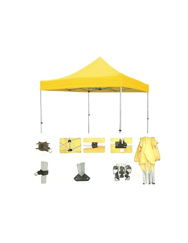 CARPA PLEGABLE TUBO 50MM 3X3 M