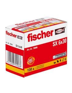 TACO FISCHER *SX* 6MM (CAJA 100 unid.)