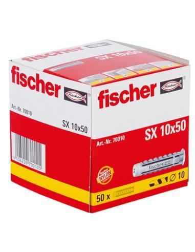 TACO FISCHER *SX* 10MM (CAJA 50 unid.)