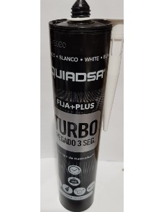 ADHESIVO FIJA  PLUS TURBO  PEGAMENTO BLANCO  3 SEGUNDOS 290ML <