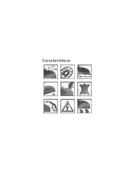 ZAPATO CROSSIX SERRAJE S1+P S/PUL-BID 44<