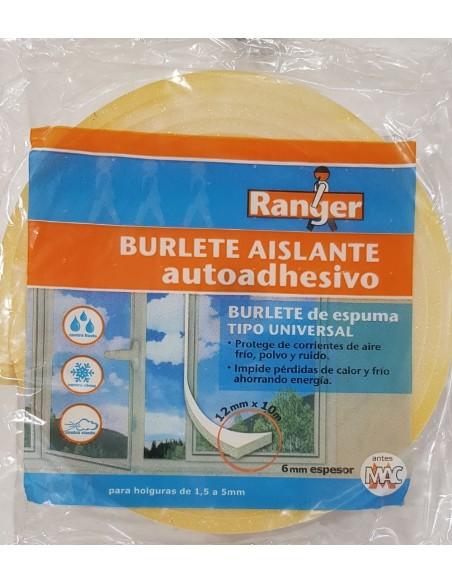 BURLETE ESPUMA 12MMX10METRO<