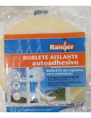 BURLETE ESPUMA 19MMX10METRO<