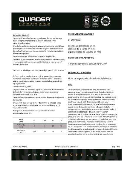 ADHESIVO FIJA  PLUS TURBO  PEGAMENTO BLANCO  3 SEGUNDOS 290ML <