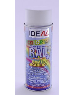 PINTURA SPRAY ACRILICA NEGRO MATE 9005 400ml IDEAL<